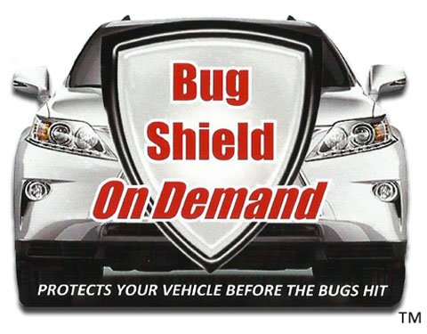 Bug Shield On Demand, Protect Cars from all bugs including Lovebugs. Lovebug cleaner and lovebug remover all in one!