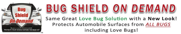 The Love Bug Solution - Best Lovebug Cleaner, Easiest Lovebug Remover - Protects Vehicles from Love Bug Damage!